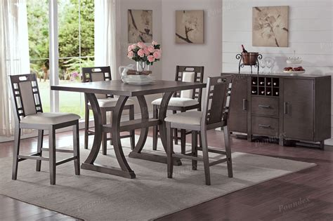 counter height dining table set lindsay counter height dining table set