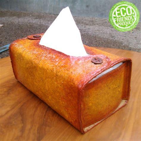 Tempat Tisu Kayu Multifungsi jual beli tempat tisu dari pelepah pisang dan serbuk