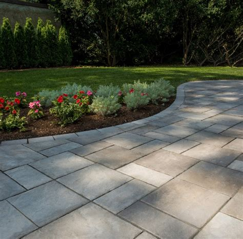 Concrete Patio With Pavers Concrete Pavers Gallery Landscape Masonry Supply