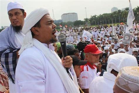 Sisi Habib Rizieq habib rizieq mengeluh fpi lagi baksos tak diliput tv palu ekspres