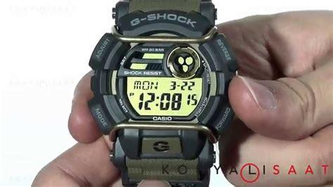 Gshock Gd 400 9d Gd400 9d 1 casio g shock gd 400 9d erkek kol saati
