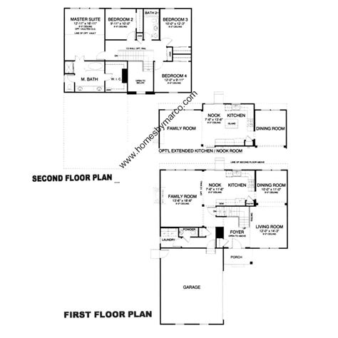 carrington homes floor plans carrington model in the manchester lakes estates