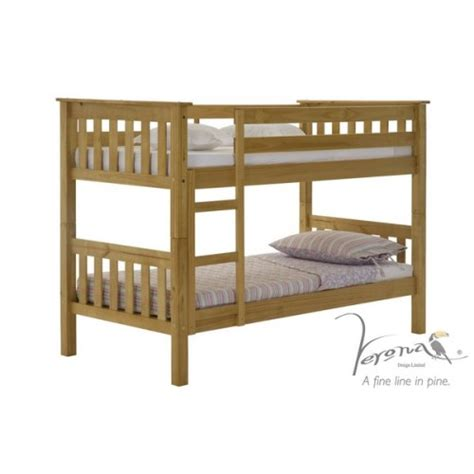 Small Single Bunk Beds Verona Design Ltd Verona Design Barcelona Small Single Bunk Bed In Review Compare Prices Buy
