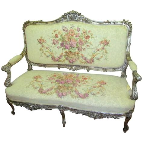 Sofa Settee Or by Louis Xv Style Settee Or Sofa With Carved