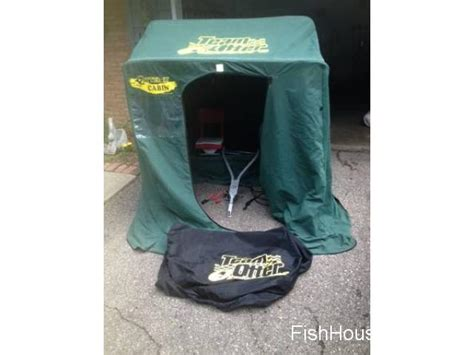 otter fish house 2 man otter portable ice fishing house eden prairie buy sell rent ice fishing houses