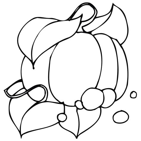 Cute Pumpkin Coloring Page | free printable pumpkin coloring pages for kids