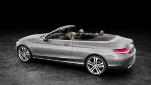 Mercedes Coupe Convertible It S The New Mercedes C Class Cabriolet Top Gear