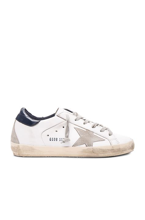 golden goose deluxe brand leather superstar low sneakers
