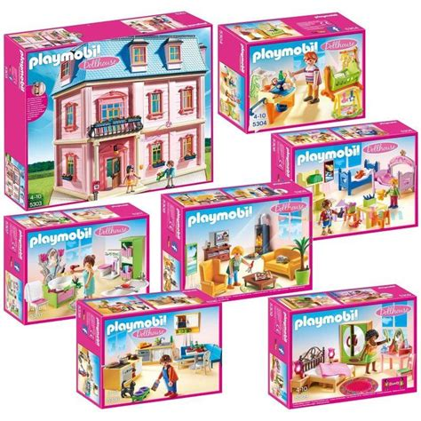playmobile dolls house dollhouse playmobil