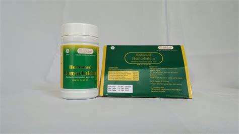 Herbasir Herbal Wasir 50 Kapsul herbamed hemorhaldin obat ambeien wasir sarana muslim