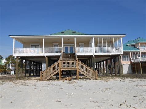 78 House By The Sea House 43255 Find Rentals Dauphin Island Alabama House Rentals