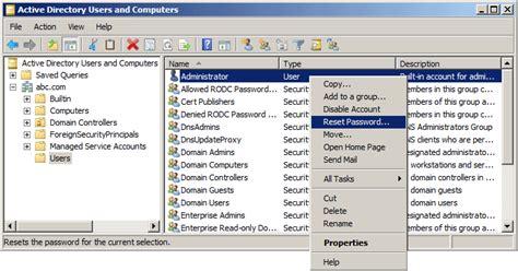 tool reset ad password reset active directory password password recovery