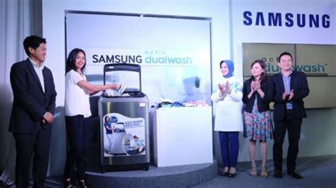 Mesin Cuci Samsung Activ Dualwash samsung activ dualwash dilengkapi built in sink untuk