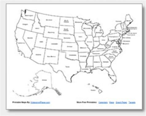printable labeled map of the united states map of the united states of america with states labeled