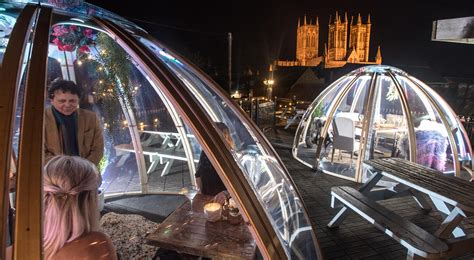 lincoln tap house take a look lincoln s dining igloos