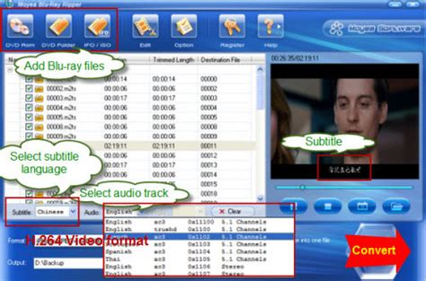 best encoding software to h 264 encode convert rip disc to h