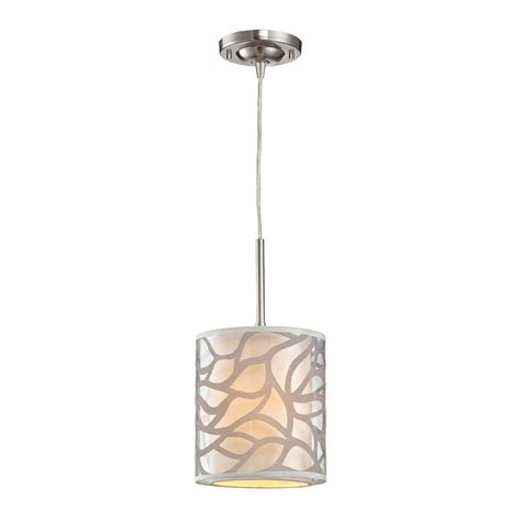 elk 53000 1 autumn modern brushed nickel mini drop
