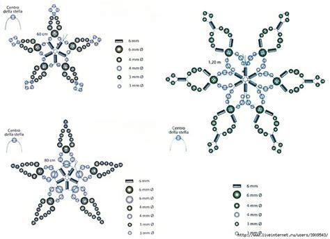 snowflake bead pattern best 25 beaded snowflake ideas on pinterest