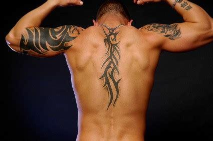 Tonikum Bayer Upper Back Tattoos For Men Tribal Back Tribal Tattoos For 2