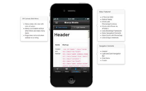 bootstrap themes free mobile bootstrap site components templates buy the best