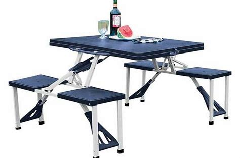 Folding Cing Table And 4 Stools by Folding Stool