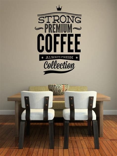 Sticker Coffee Shop strong premium coffee large sticker ideal for restaurant cafe shop etc wall stickers