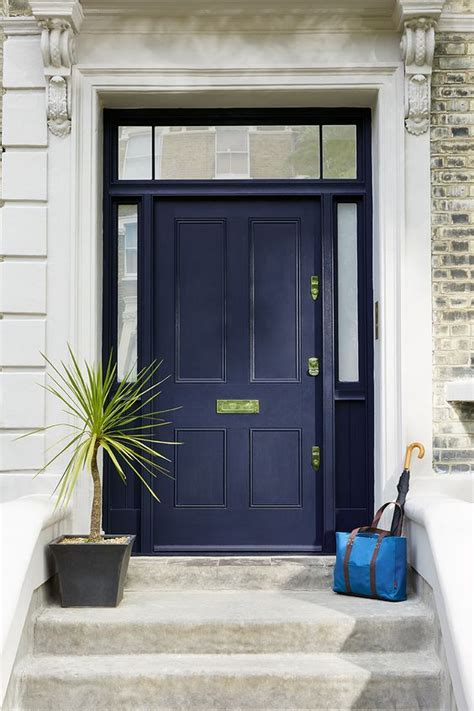 navy front door navy door increase curb appeal by painting charming