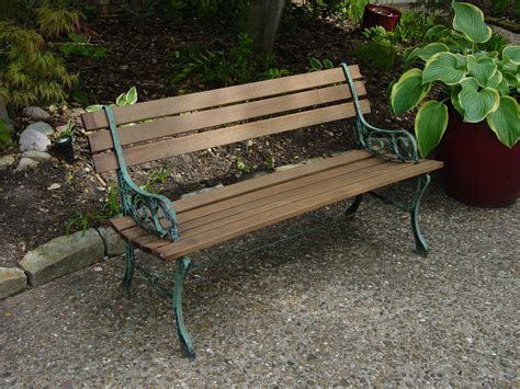 old park benches customer diy project ipe park bench edeck com