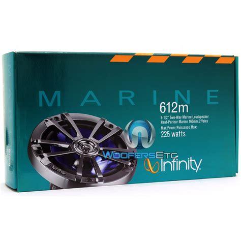 612m infinity 6 1 2 quot 2 way marine speakers