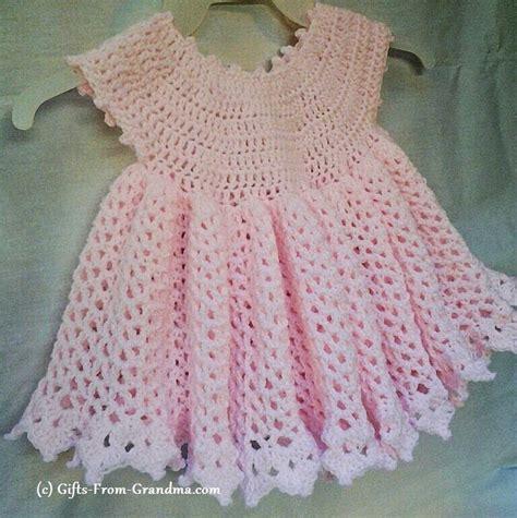 crochet dress pattern free pinterest easy cute crochet baby dress pattern free crochet patterns
