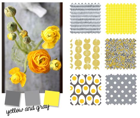 colors that goes with grey color palette yellow and gray blog oliver s
