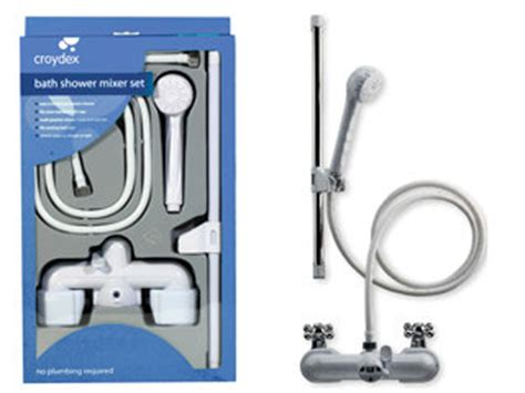 push fit bath shower mixer croydex bath shower mixer set for sale in shannon clare from shazamm