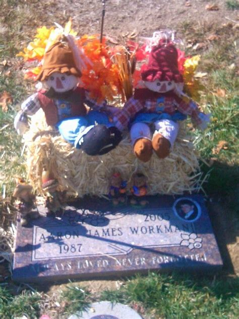 grave side christmas tree fall decorations aaron s graveside flowers tree decoration grave
