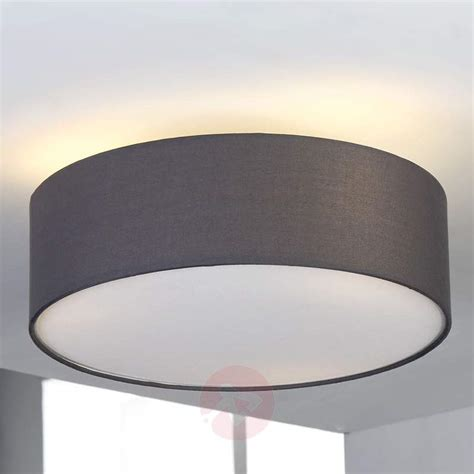 grey fabric ceiling light sebatin lights co uk