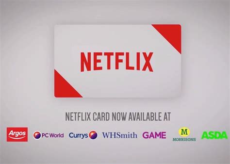 Netflix Uk Gift Card - netflix card pay as you go gift card introduced