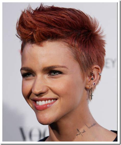 model rambut edgy bob kleo salon gaya rambut pendek wanita