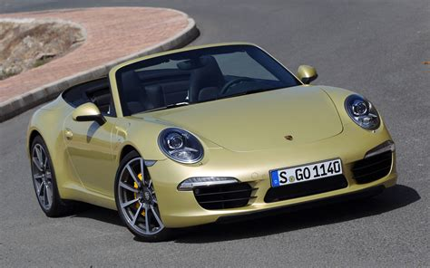 gold porsche convertible drive 2012 porsche 911 cabriolet photo gallery