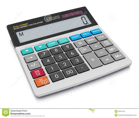 office calculator royalty free stock photography image