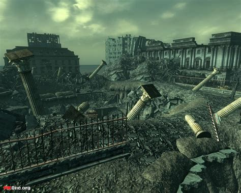 fallout 3 white house fallout 3 wallpapers mkone org game wallpapers more
