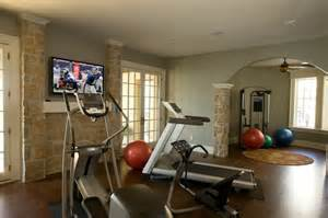 Home Exercise Room Decorating Ideas Exercise Room Traditional Home Indianapolis By Triphase Technologies And Universal