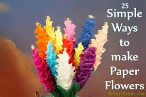 20 mindblowing ways to make paper flowers with tutorials