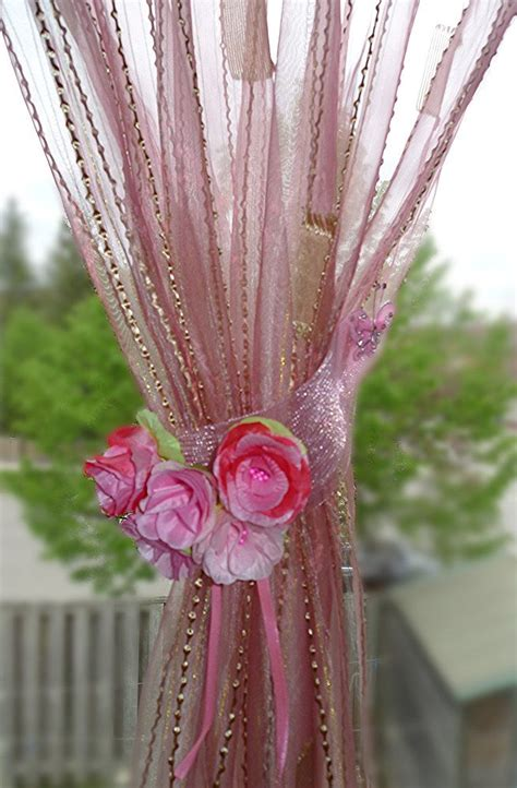 hot pink curtain tie backs 17 best ideas about pink curtains on pinterest pink home