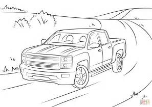 Silverado Coloring Pages Chevy Coloring Pages