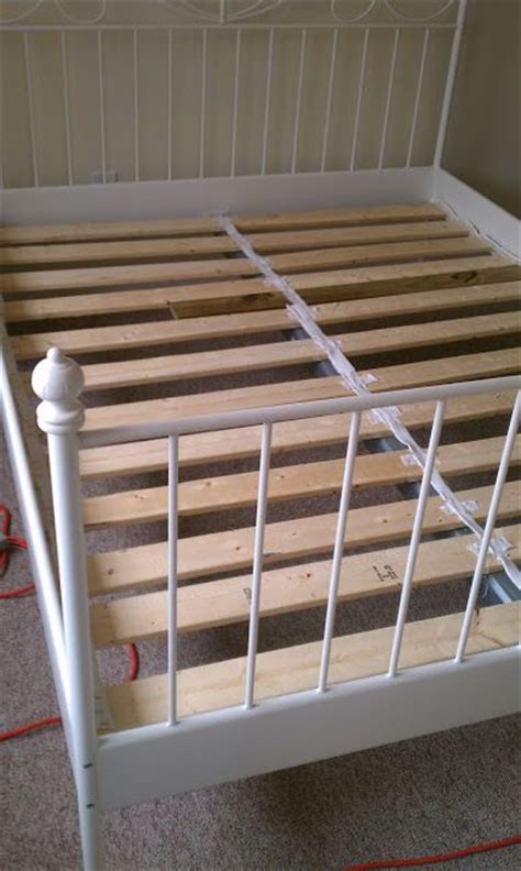 diy bed slats make your own ikea bed slats diy pinterest bed slats