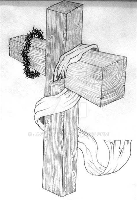 the wooden cross by jagman117 on deviantart