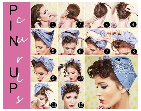 retro hair short diy 14 glamorous retro hairstyle tutorials pretty designs