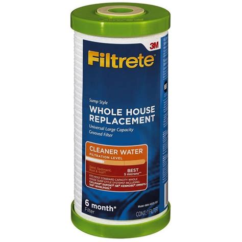 filtrete wh hdgr  grooved replacement filter iallergy
