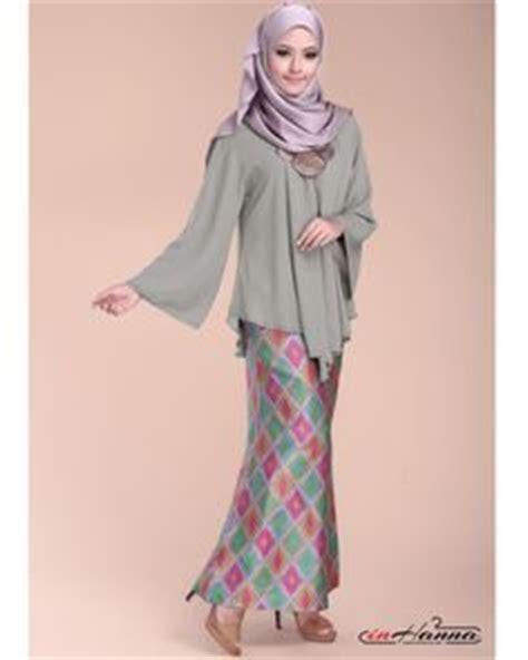 Bell Sleeves Blouse Muslim Atasan Baju Wanita Lala Blouse Brocade Bell Sleeve Modern Kurung 7 Modern Baju Kurung