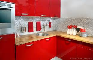 Red Kitchen Decor pictures of kitchens modern red kitchen cabinets