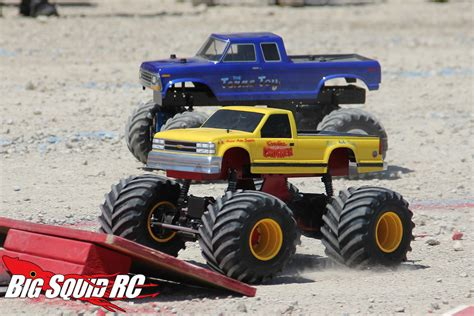 monster truck rc racing event coverage bigfoot 4 215 4 open house r c monster